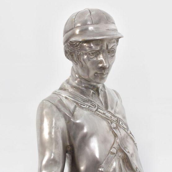Hunter Statue